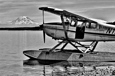 Photograph - Seaplane Standby by Benjamin Yeager