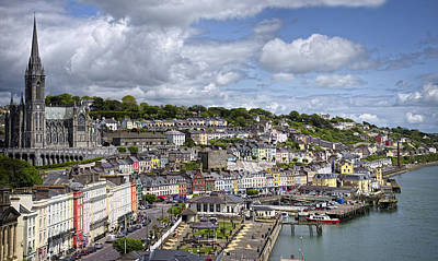 Photograph - Seaport Town Of Cobh by Lucinda Walter