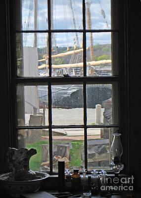 Seaport View Art Print