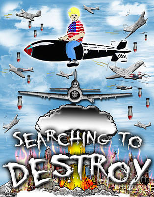 Popp Digital Art - Search And Destroy by Jeff Karnick
