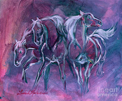 Painting - Searchers by Linda L Martin