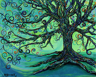 Searching Branches Print by RK Hammock