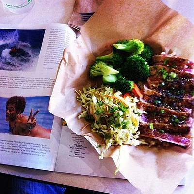 Photograph - Seared Ahi At Nalu's #food #art by Paul Carter