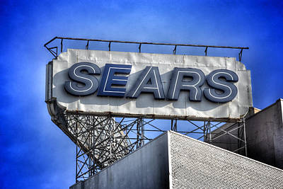 Photograph - Sears Building - Telegraph Avenue Oakland California by Bill Owen