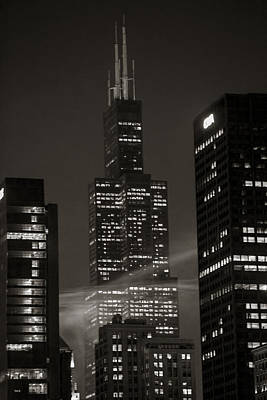 Canon 6d Photograph - Sears Or Willis Tower In Chicago  by John McGraw