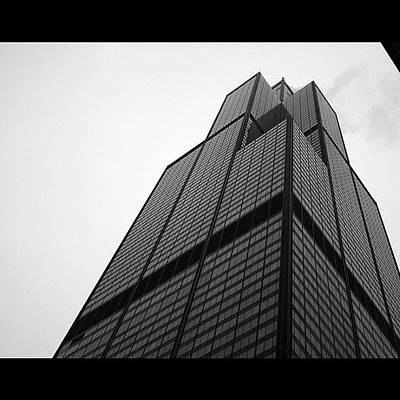 Architecture Photograph - Sears Tower by Mike Maher