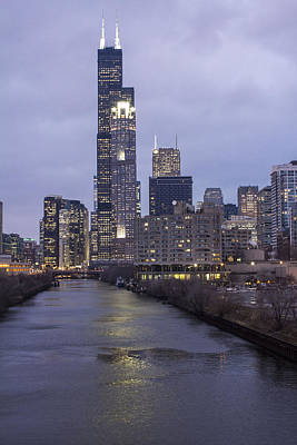 Photograph - Sears Tower Or Willis Tower by John McGraw