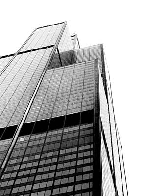 Photograph - Sears Tower by Richelle Munzon