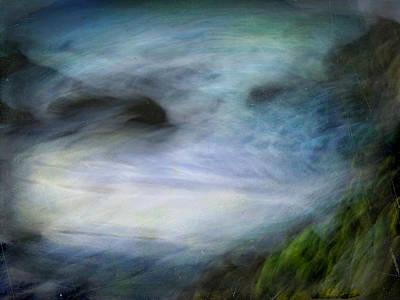 Seascape #14. Sighs Art Print by Alfredo Gonzalez