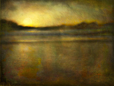 Seascape #18 Art Print by Alfredo Gonzalez