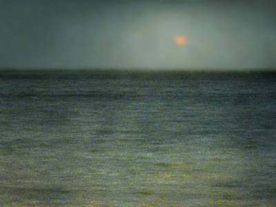 Seascape #5. Sun Sea Horizon Art Print by Alfredo Gonzalez