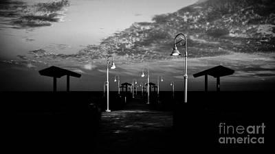 Abstract Beach Landscape Digital Art - Seascape 73 A by Otri Park