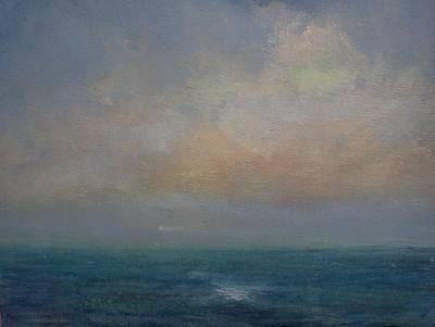 Seascape - A Nereid Sighting Art Print