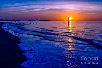 Coastline Digital Art - Seascape by Adrian Evans