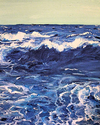 Seascape Original by Alyssa Riley-Laird