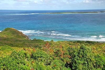 Photograph - Seascape Below Las Cabezas by Alan Lenk