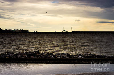 Bay St. Louis Ms Wall Art - Photograph - Seascape C10i by Otri Park