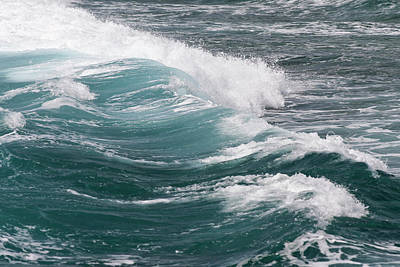 Ocean Power Photograph - Seascape by Daisy Gilardini