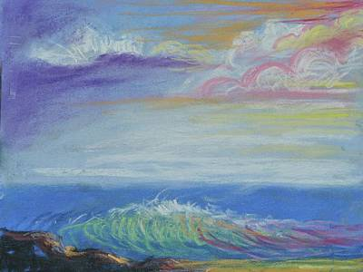 Palo Cedro Painting - Seascape Dream by Patricia Kimsey Bollinger