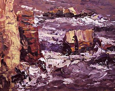 Painting - Seascape I by Brian Simons