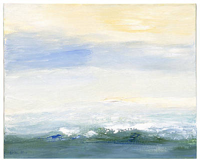 Painting - Seascape Izu Japan 1999 by Karl Leonhardtsberger