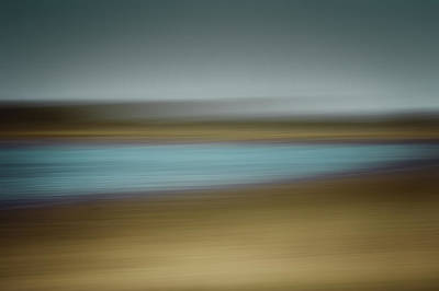 Painting - Seascape Landscape Abstract Ocean Blue Sea Photography by Gray  Artus