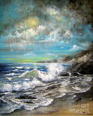 Painting - Monday's Rain by Patrice Torrillo