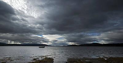 Photograph - Seascape Scotland Uk by Dubi Roman