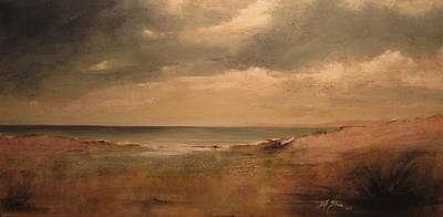 Seascape Using Resin Sand Original by Diane Strain