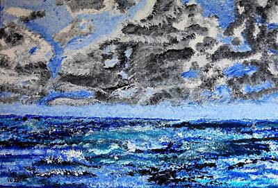 Painting - Seascape by Valerie Ornstein
