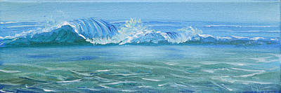 Seascape Wave IIi Art Print