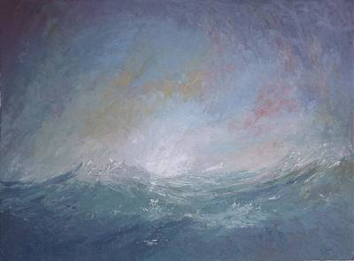 Seascape1 Art Print by Sean Conlon