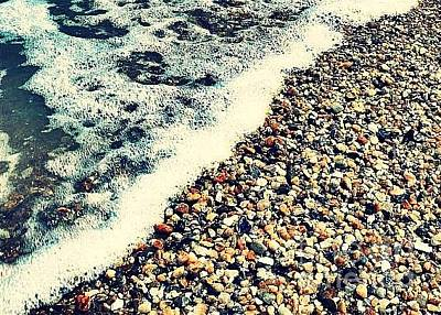 Photograph - Seashore - Greeting Card Only by Scott Allison