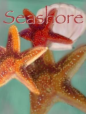 Seashore Poster Art Print by Christine Fournier