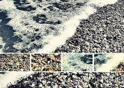 Photograph - Seashore Upclose - Greeting Card Only by Scott Allison