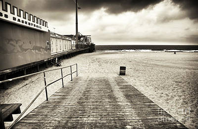 Photograph - Seaside Beach Entry by John Rizzuto