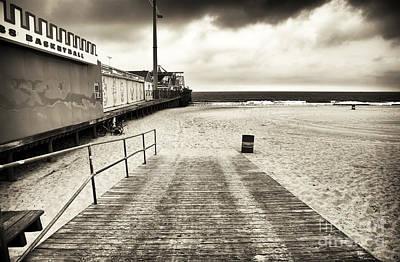 Seaside Heights Photograph - Seaside Beach Entry by John Rizzuto