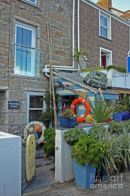 Photograph - Seaside Bed And Breakfast St Ives by Terri Waters