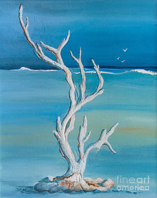 Painting - Seaside Coral by Michelle Wiarda-Constantine