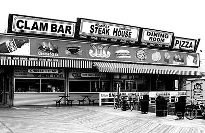 Seaside Heights Photograph - Seaside Dining by John Rizzuto