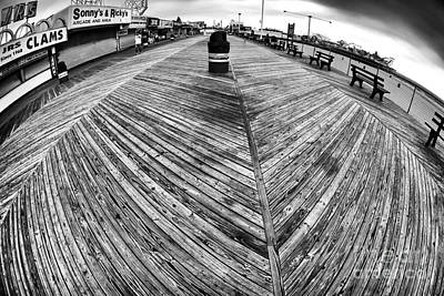 Photograph - Seaside Distorted by John Rizzuto