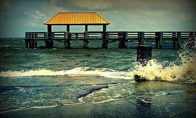 Photograph - Seaside Dock by Ali Dover