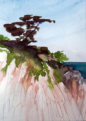Seaside Art Print by Ed  Heaton