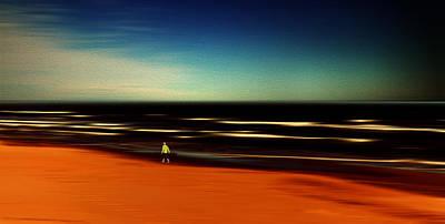 Photograph - Seaside by Herbert Seiffert