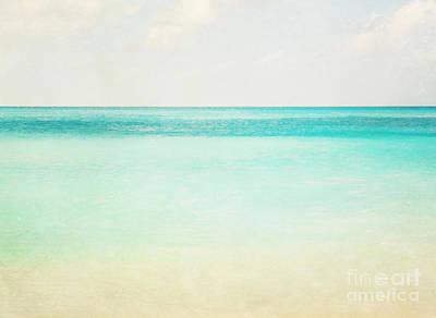 Ethereal Dreamy Ocean Photograph - Seaside by Kim Fearheiley