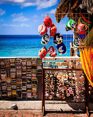 Photograph - Seaside Market by Melinda Ledsome