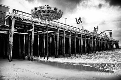 Photograph - Seaside Pier by John Rizzuto
