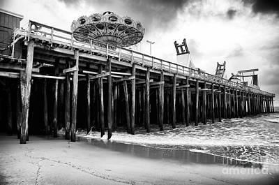 Seaside Heights Photograph - Seaside Pier by John Rizzuto