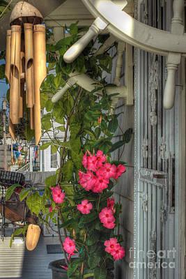 Seaside Porch Art Print by Joann Vitali