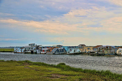 Photograph - Seaside Shanty Town by Allen Beatty